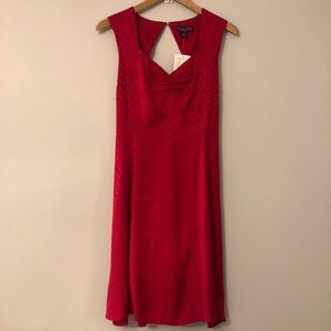 NWT Anthropologie Red Dress